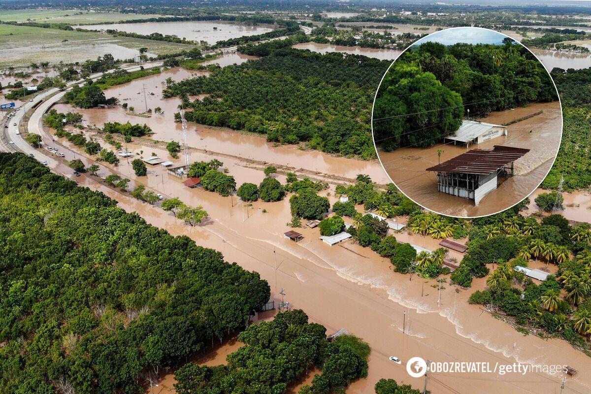 Последствия урагана Йота в Гондурасе в ноябре 2020 года