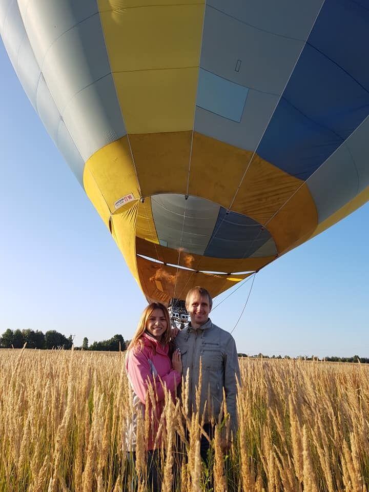Светлана и Дмитрий путешествовали сами