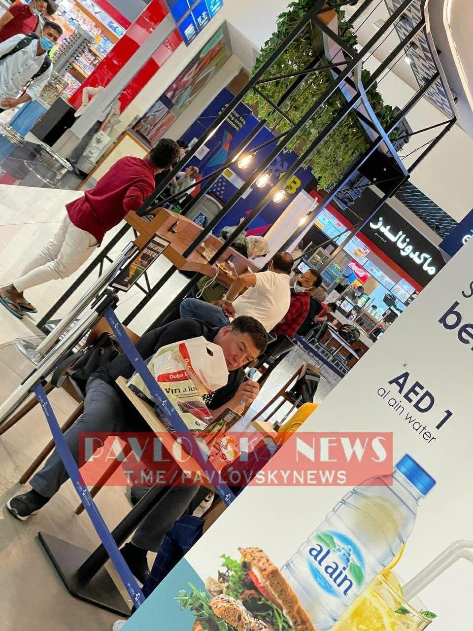 Тупицкого засняли в аэропорту Дубая.