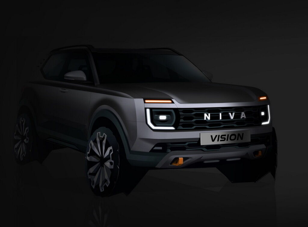 Тизер нового покоління Lada Niva