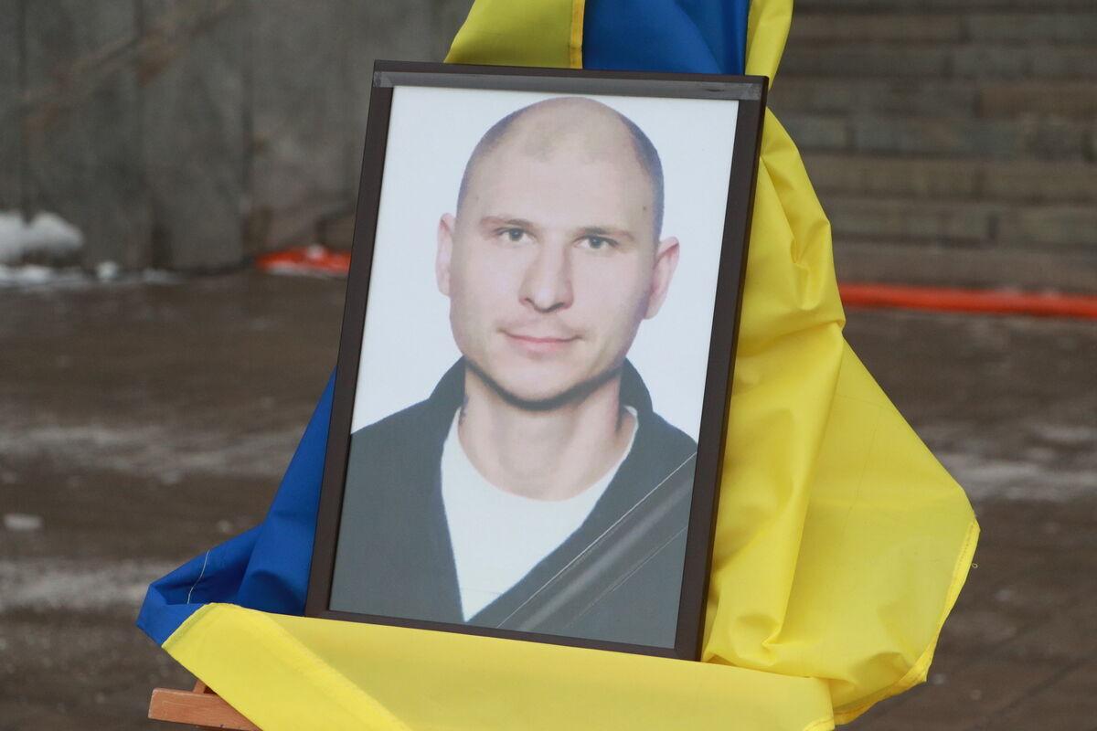 Олег Андрієнко загинув від ворожої кулі снайпера