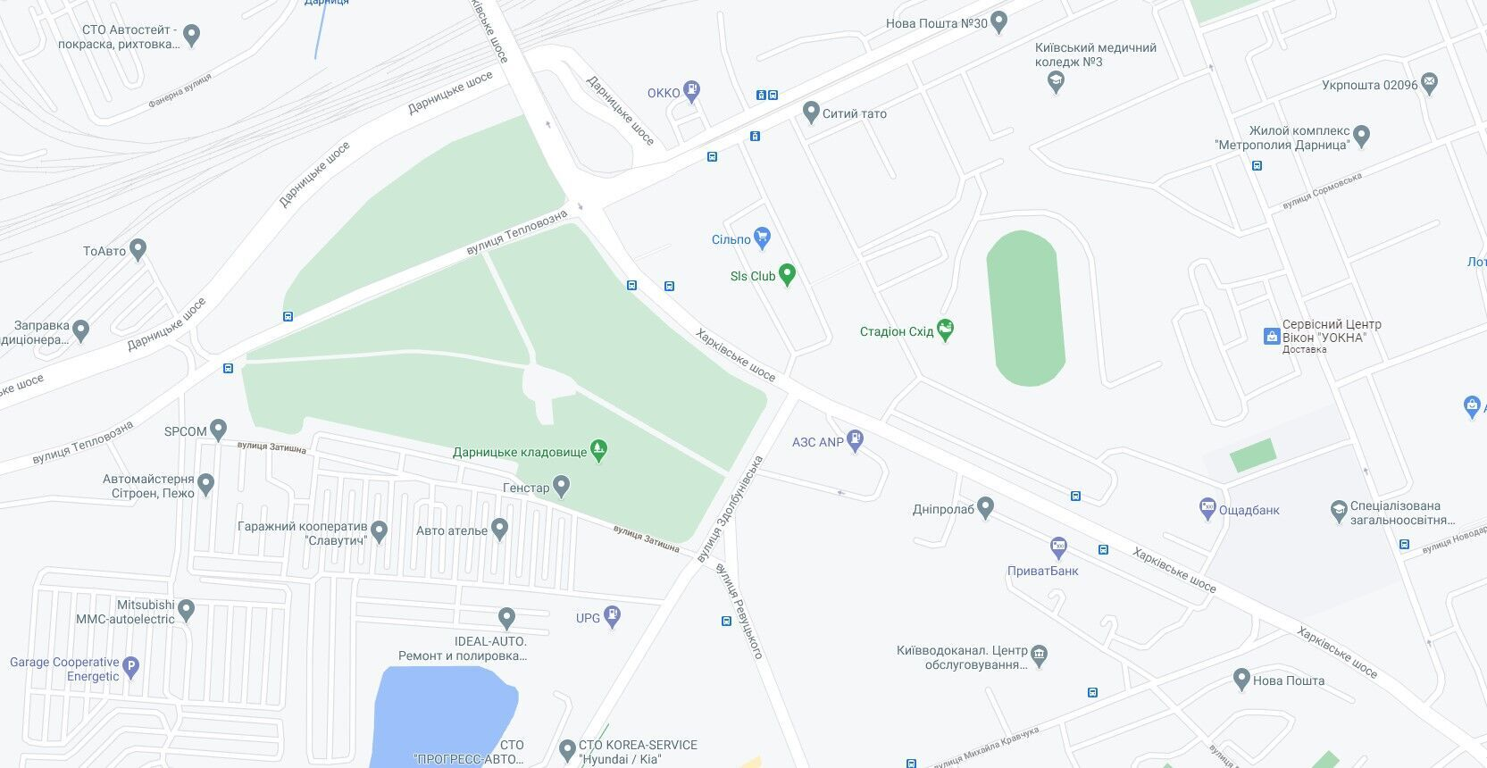 ДТП произошло на перекрестке улиц Здолбуновской и Харьковского шоссе.