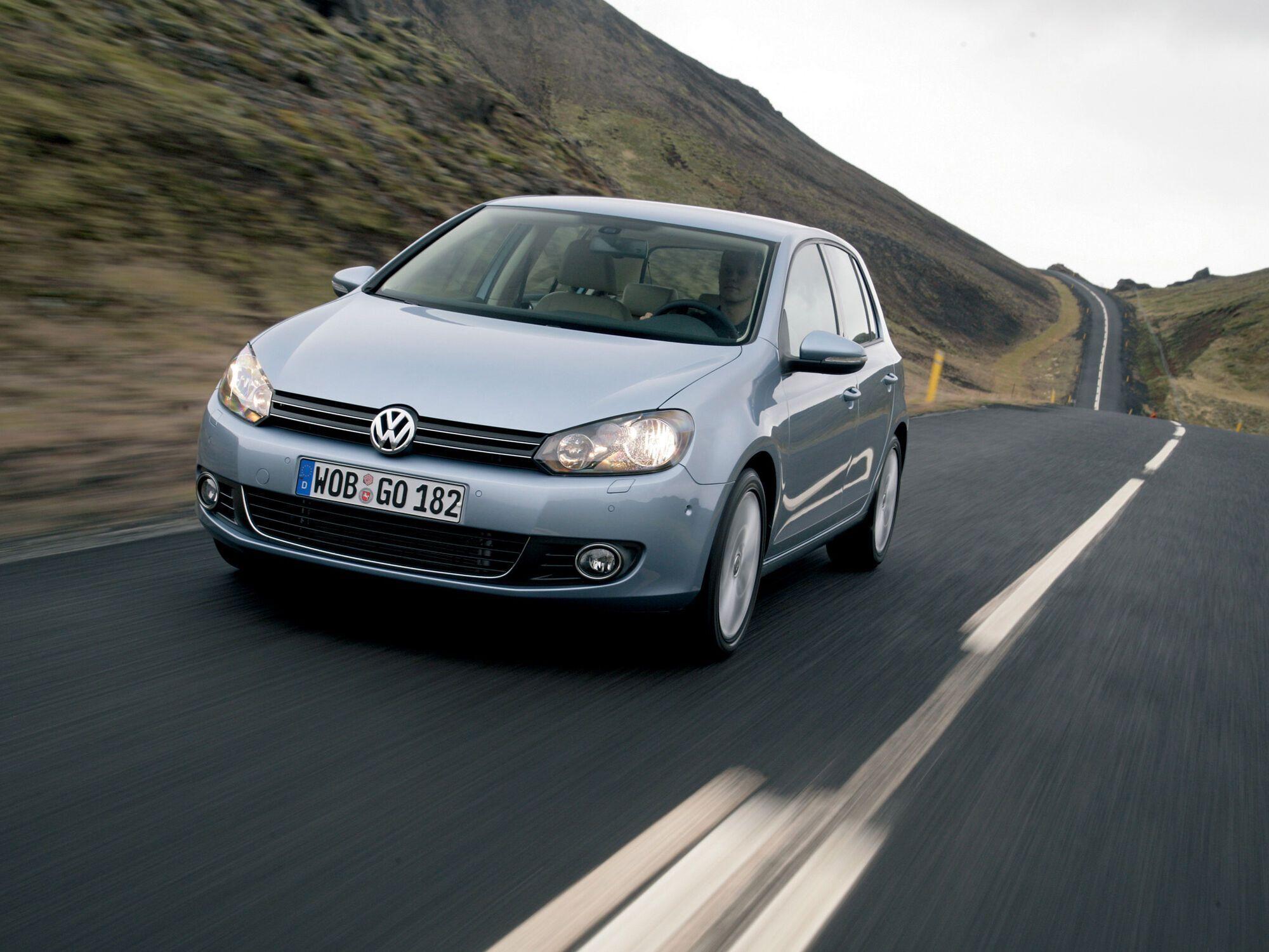 Volkswagen Golf вошел в тройку лидеров потребительских интересов украинцев
