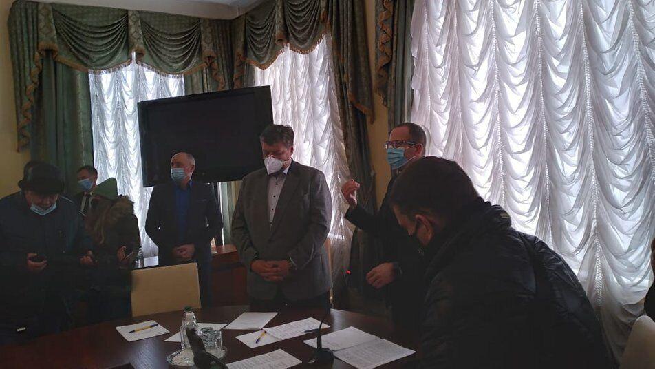 Протестувальники поспілкувалися з депутатами