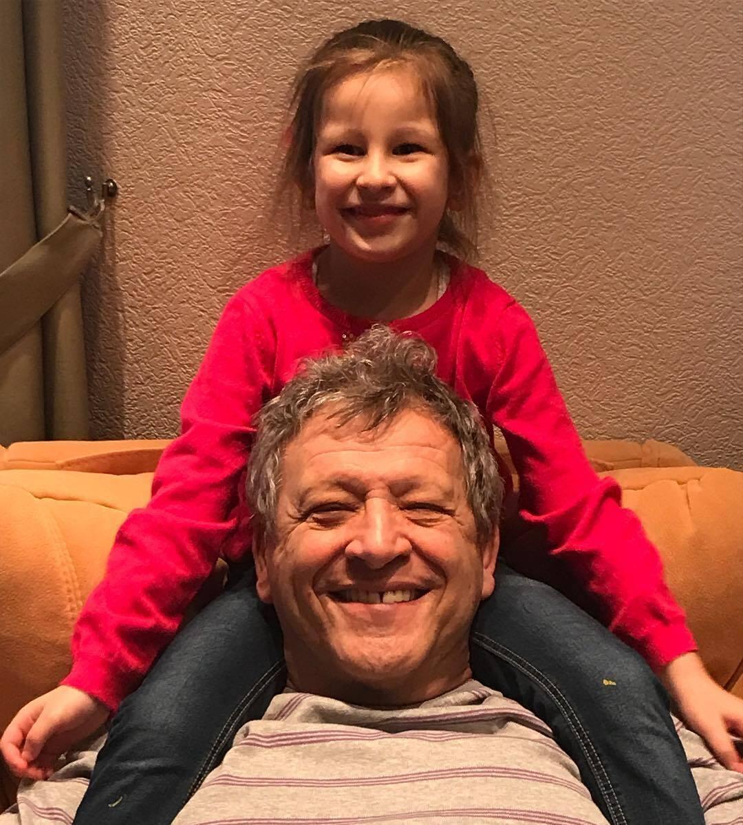 Грачевский с дочерью Василисой