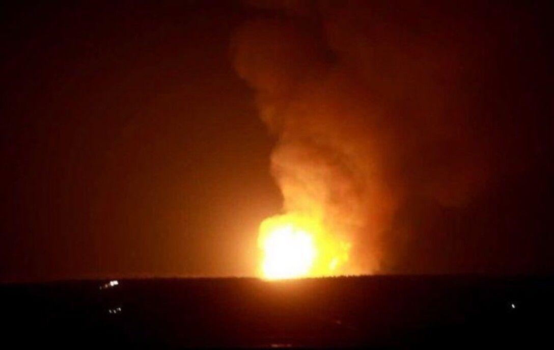 Взрыв газа у Глафировки