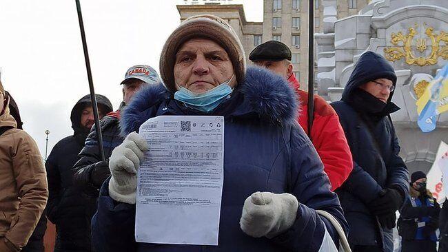 Протестувальники озвучили вимоги до влади
