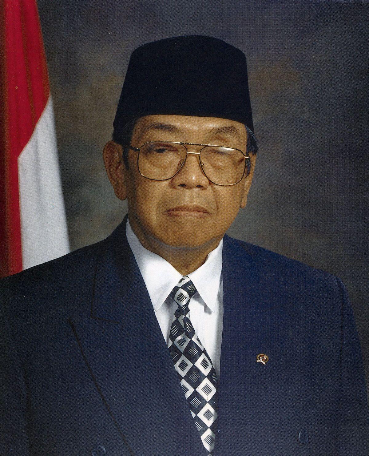 Абдуррахман Вахід був обраний президентом Індонезії 1999 року