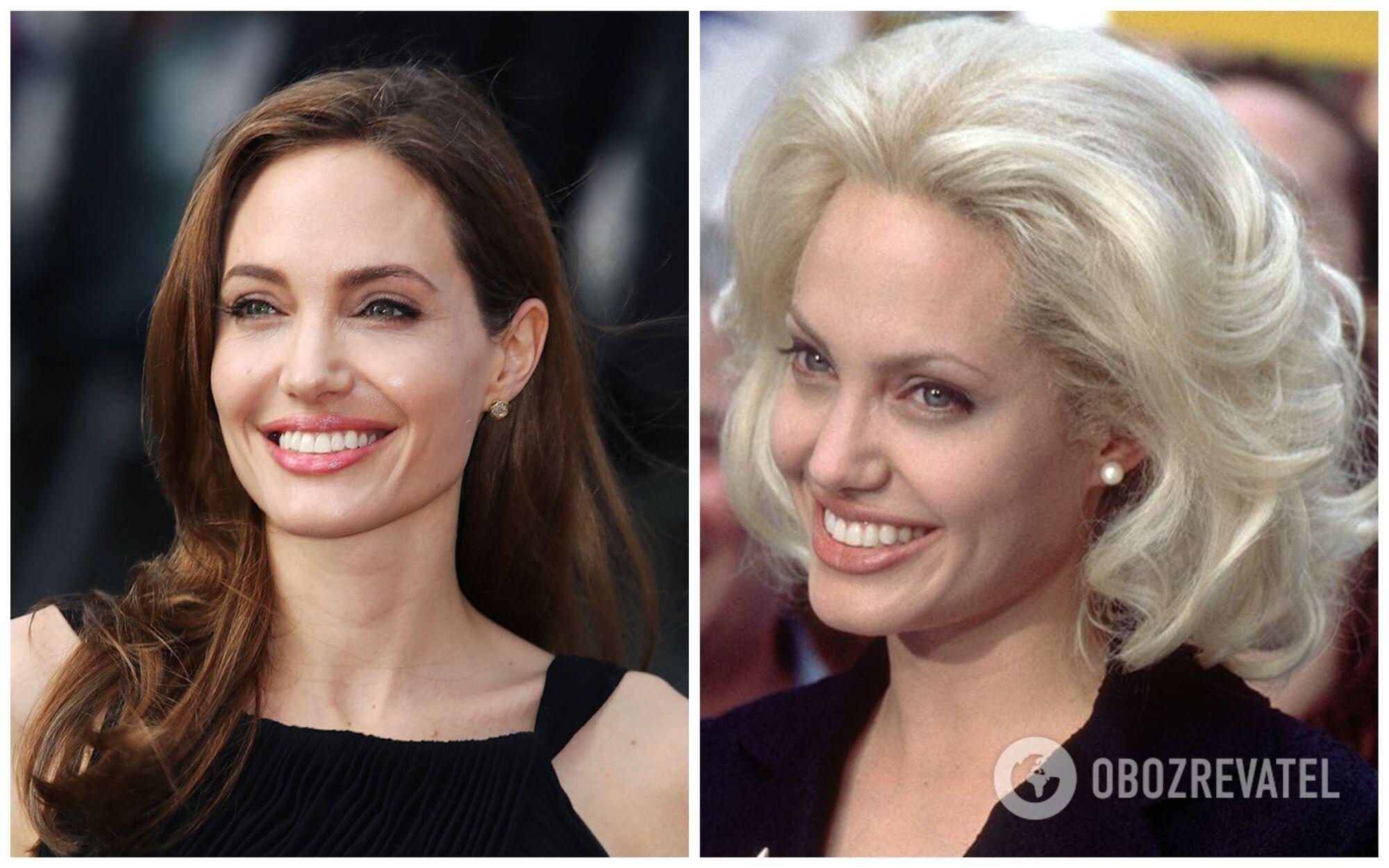 Анджелина Джоли пыталась быть похожей на Мэрилин Монро.