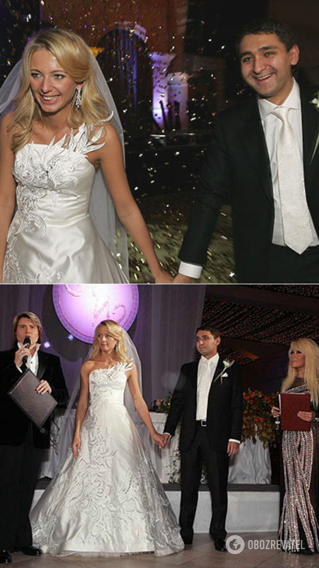Свадьба дочери Медведчука Ирины и Андрея Рюмина, 2006 год