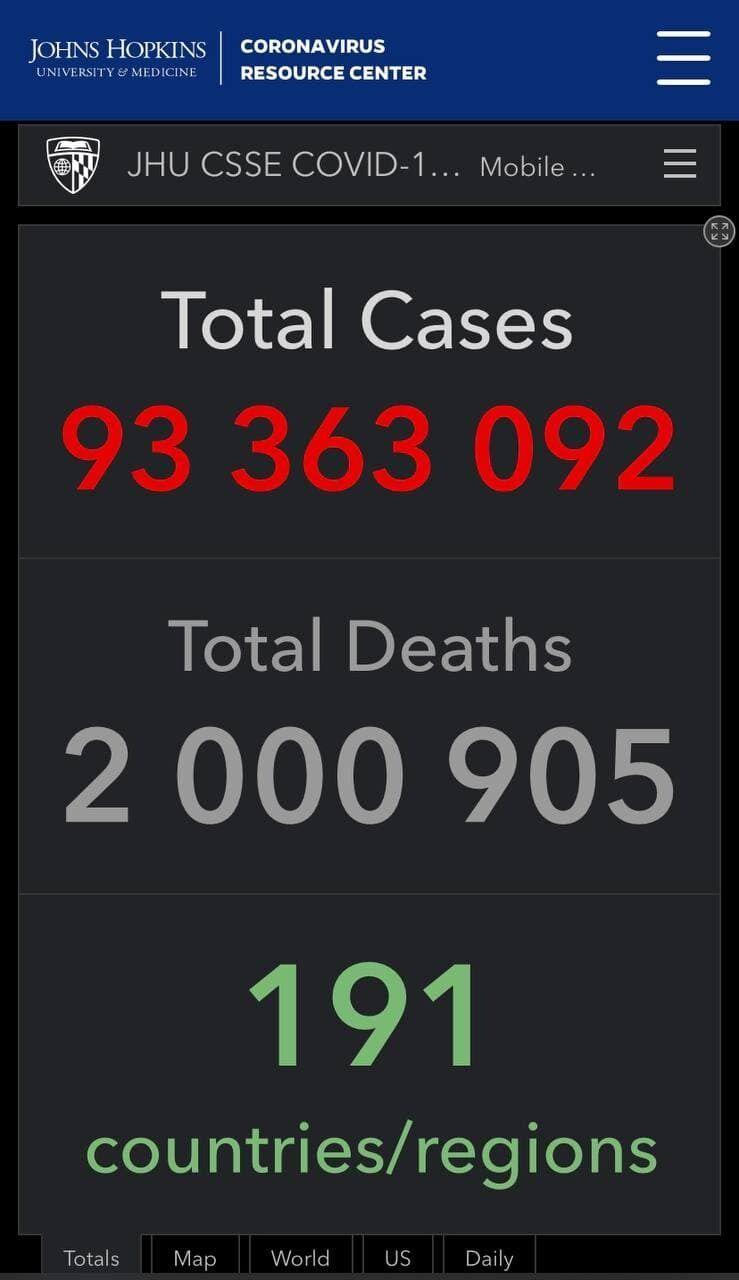Смертність від COVID-19 у світі