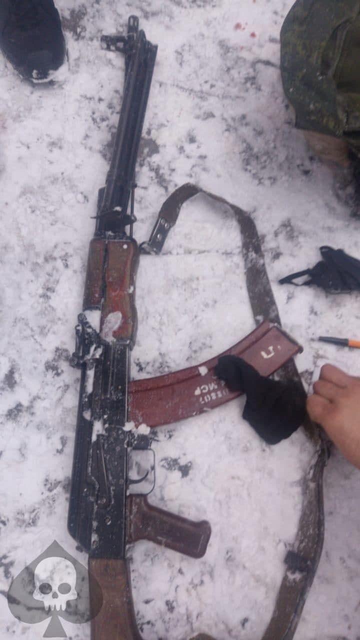 Зброя Віктора Калуцького