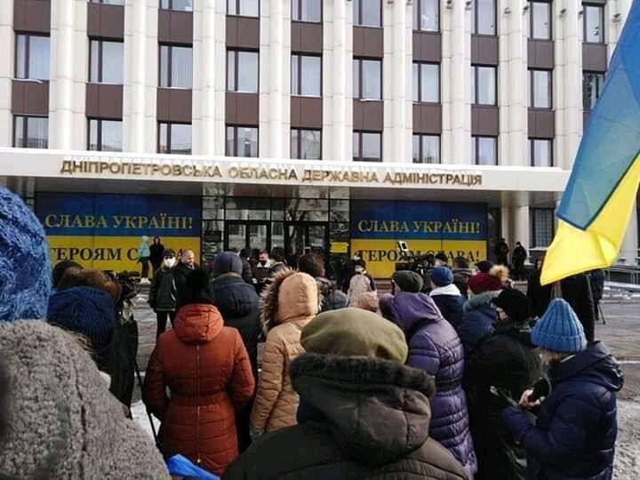 Протестующие требовали объяснений