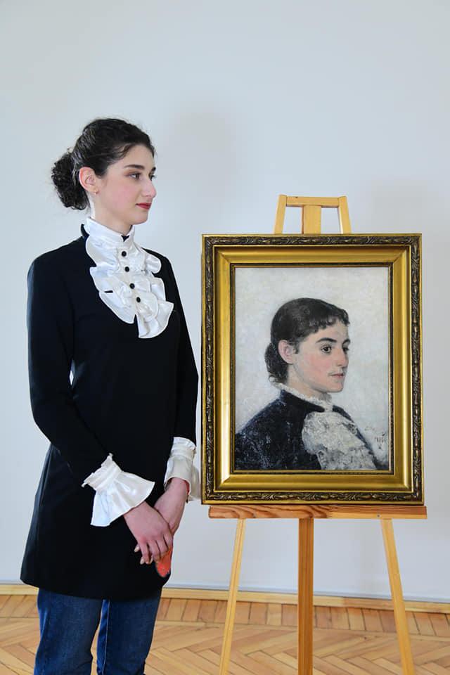 """В музее попытались """"оживить"""" женские картинные образы"""
