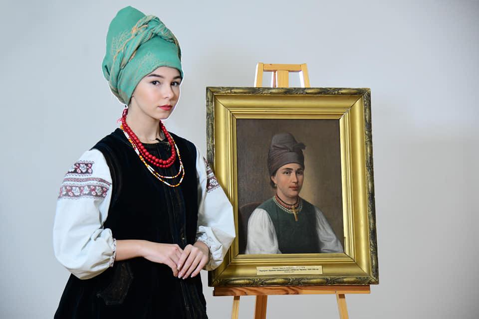 Украинская одежда прошлого