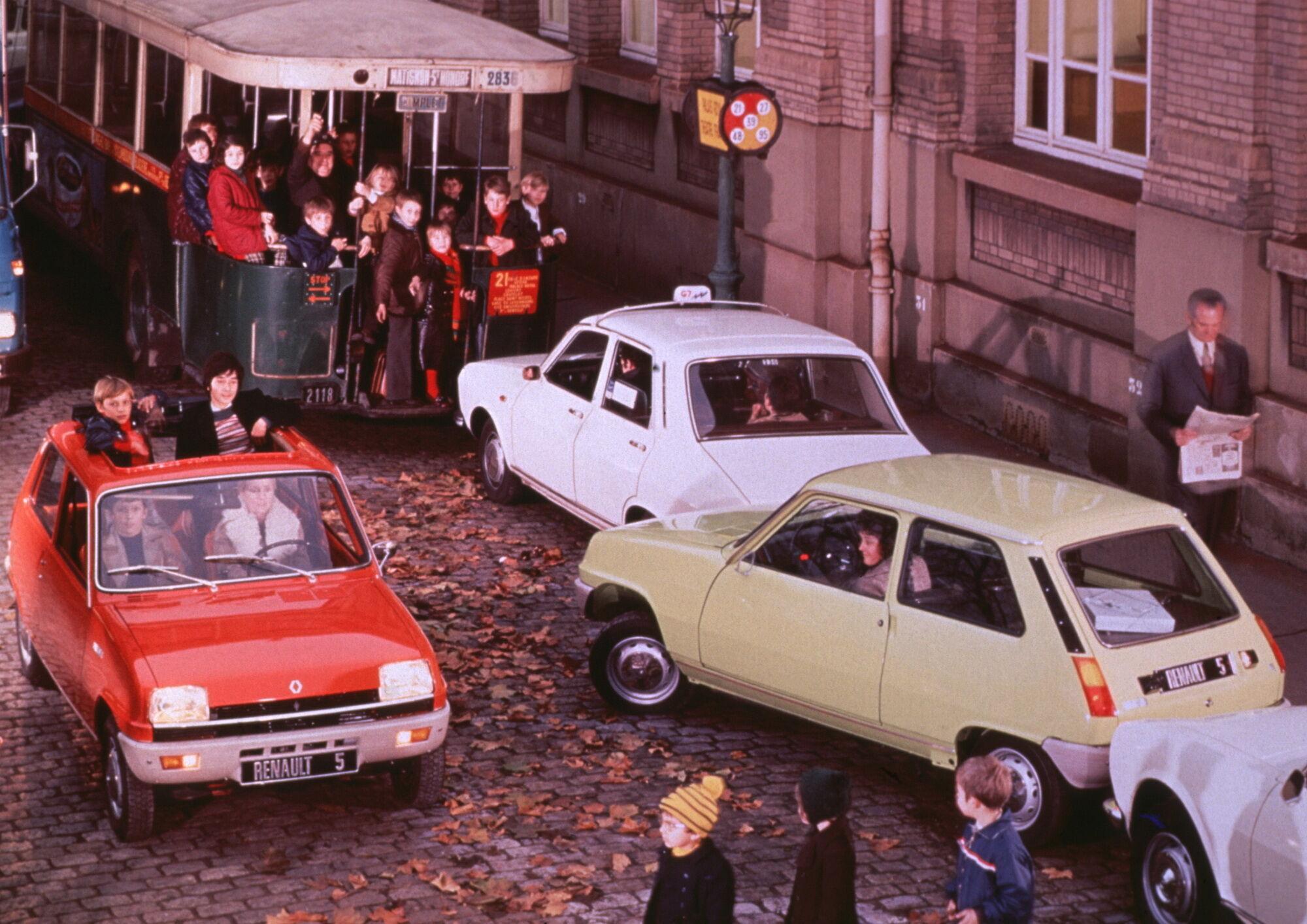 Renault 5 первого поколения (1972-1985)