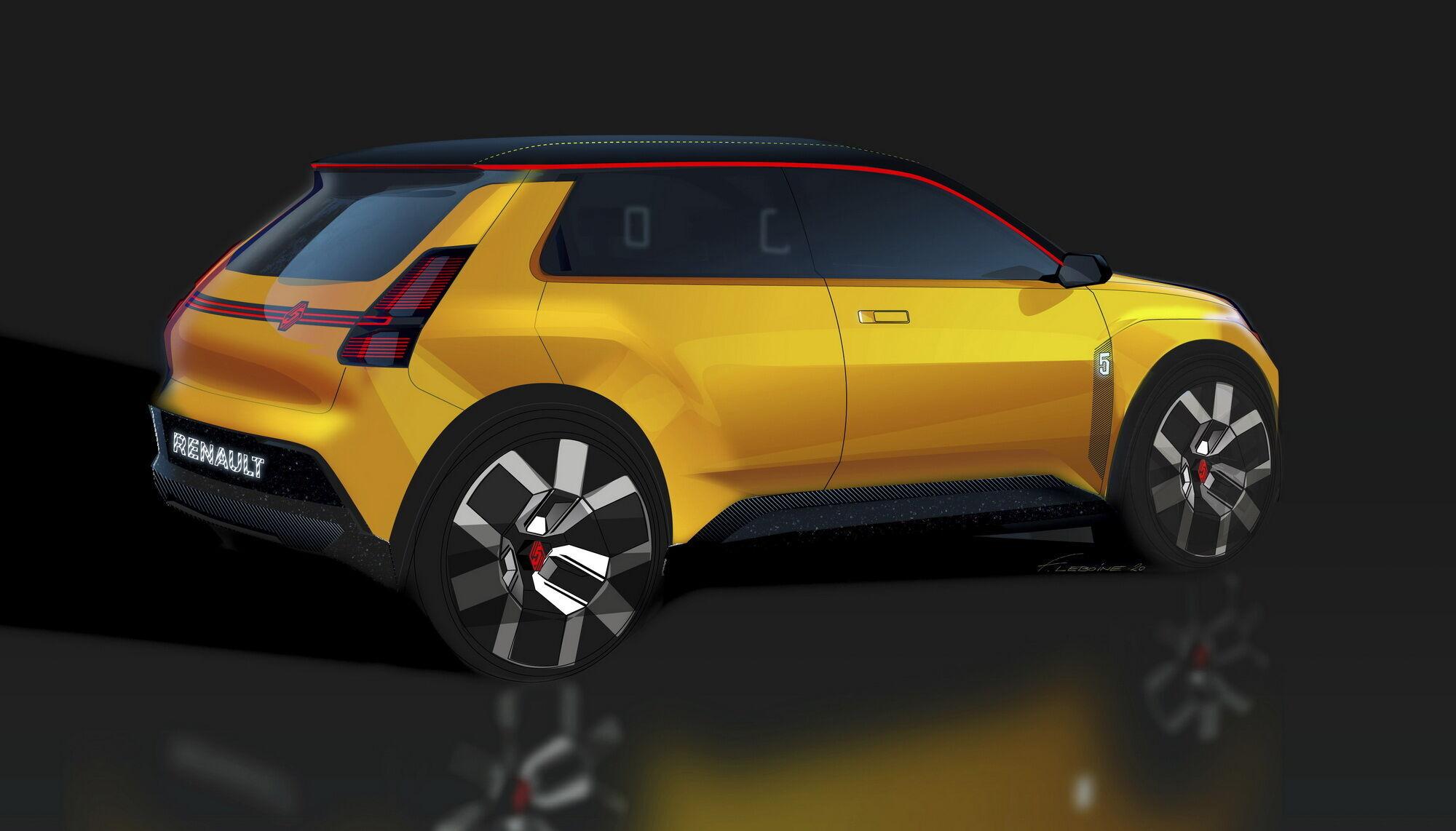 Концепт станет одной из 7 полностью электрических моделей компании Renault