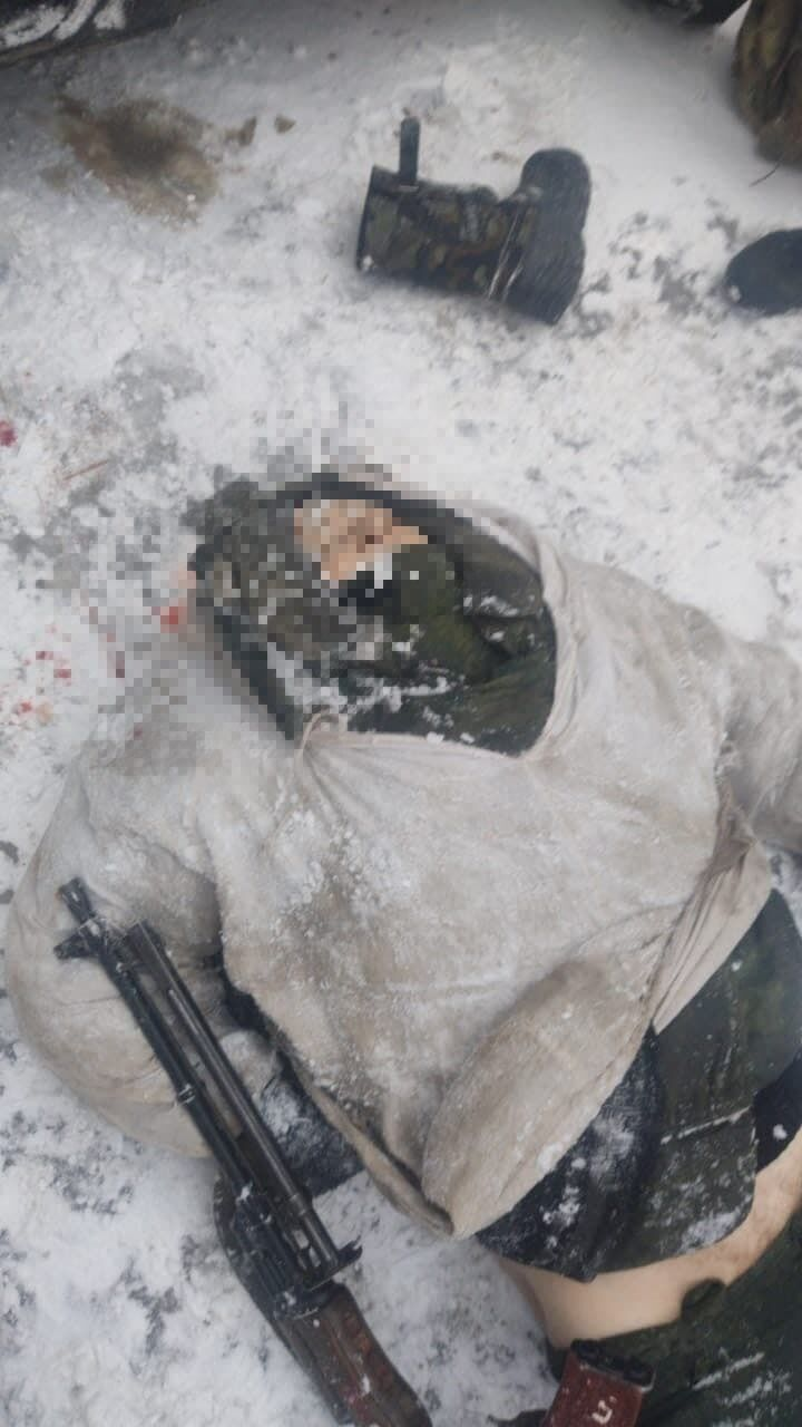 Убитый террорист