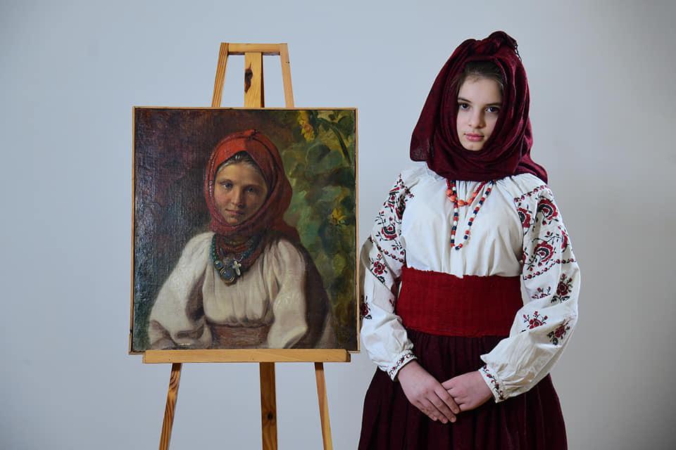 Украинская национальная одежда прошлого