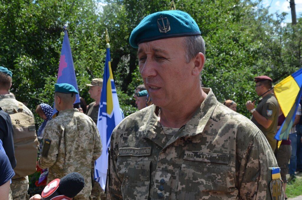 Командир 137 окремого батальйону Вадим Римаренко.