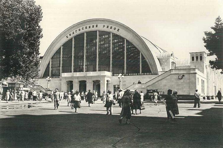 Бывший Сенной рынок в Киеве