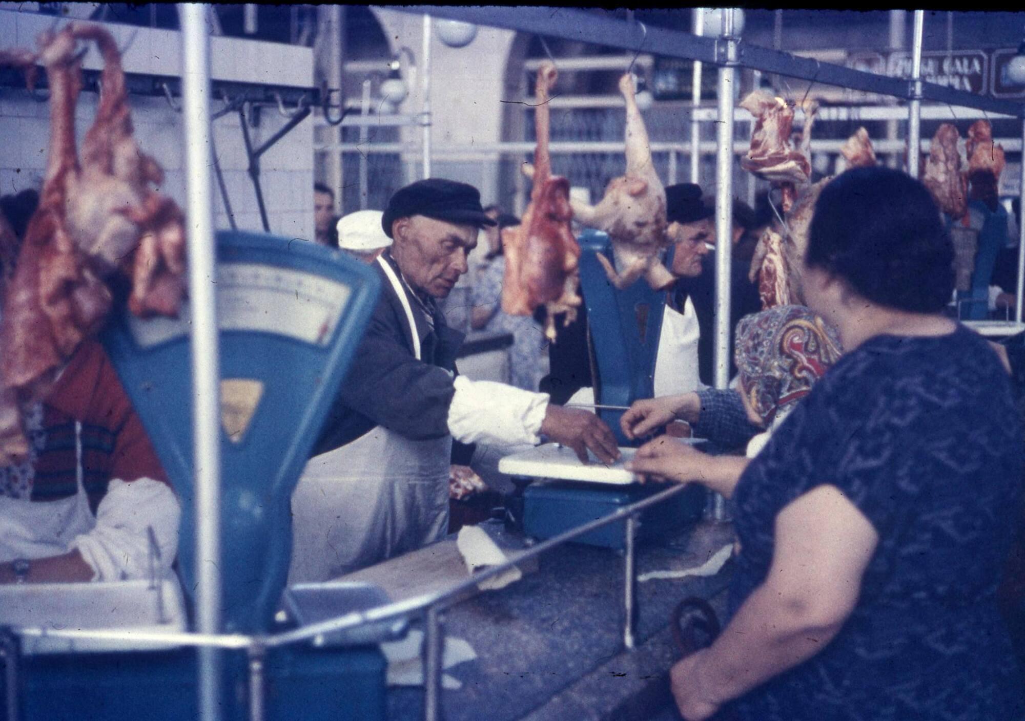 Торговля на Сенном рынке в Киеве, 1960-е