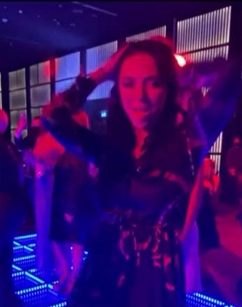 Вікторія Смеюха на концерті Тіматі в Дубаї