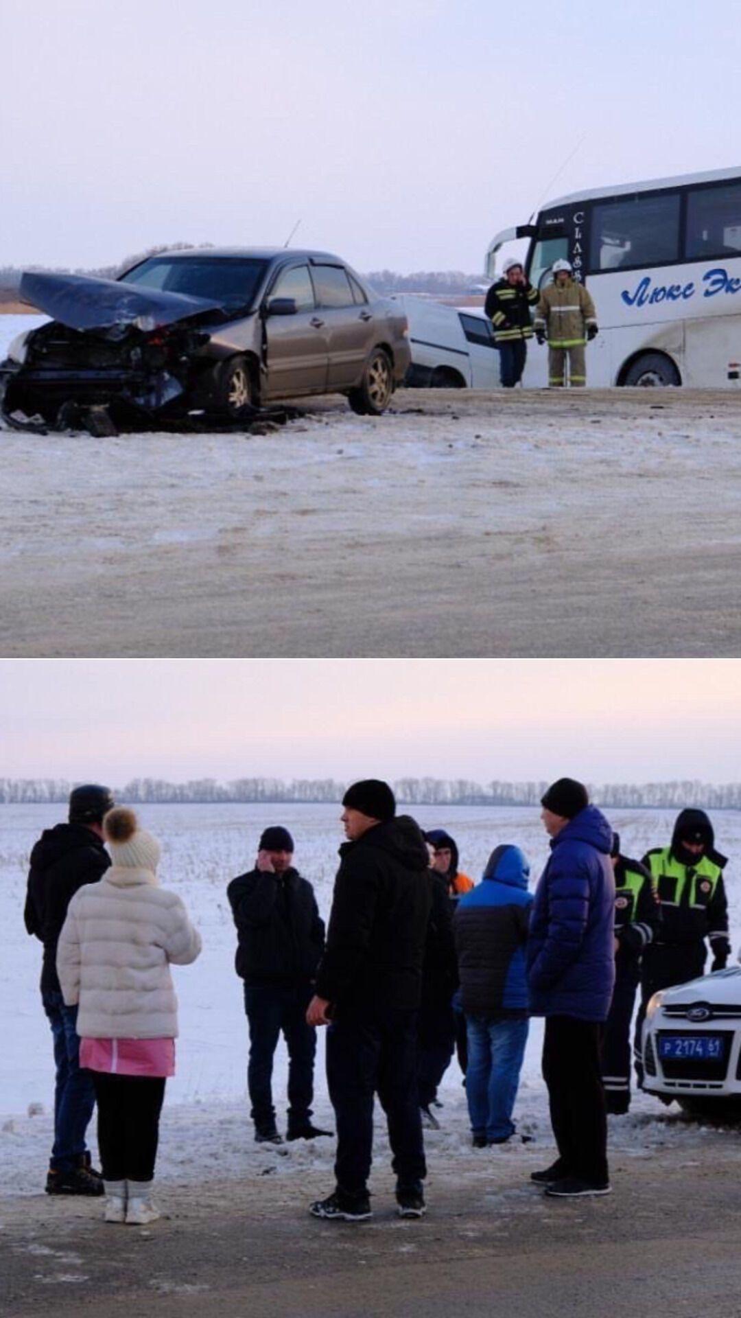 Це друга аварія під Ростовом із автобусами, які прямували в ОРДЛО