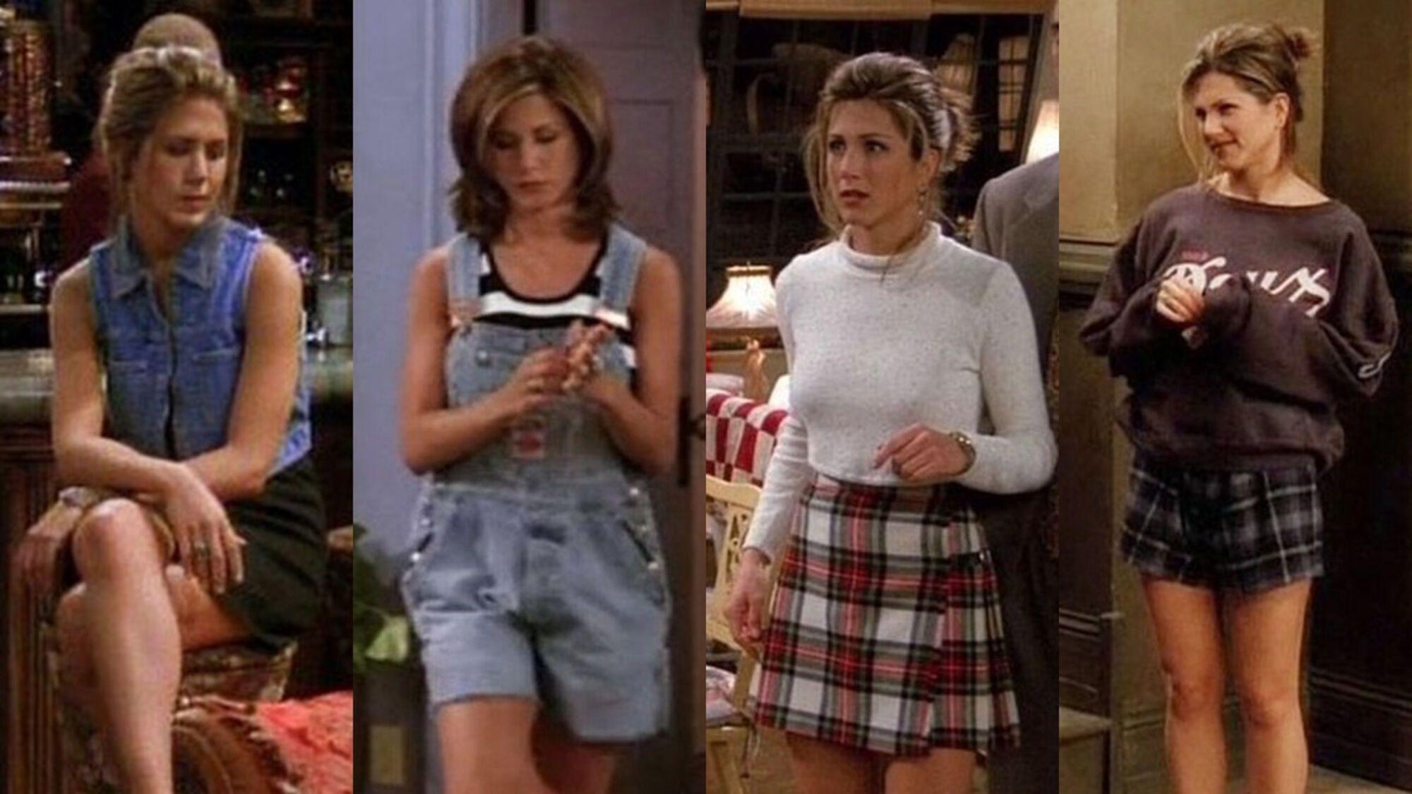 Как одеться в стиле Рейчел Грин
