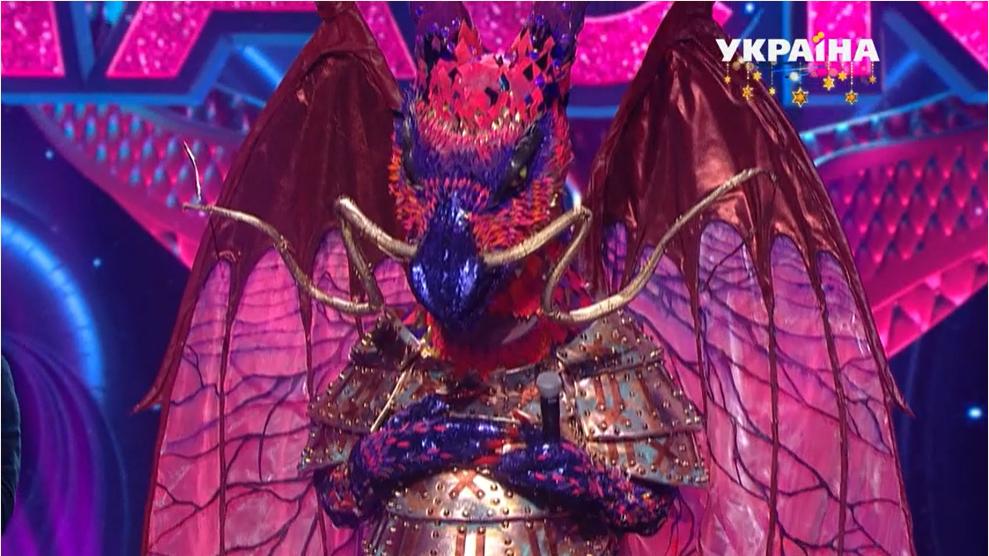 "У шоу ""Маска"" з'явився учасник в образі Дракона"