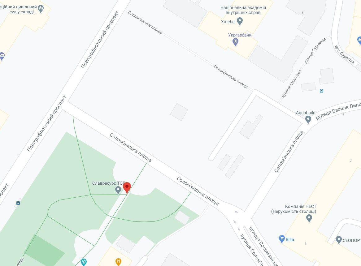 ДТП сталася на Солом'янській площі.