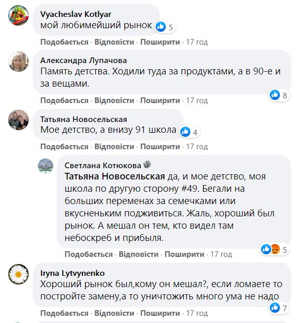 Киевляне вспомнили, каким был Сенной рынок