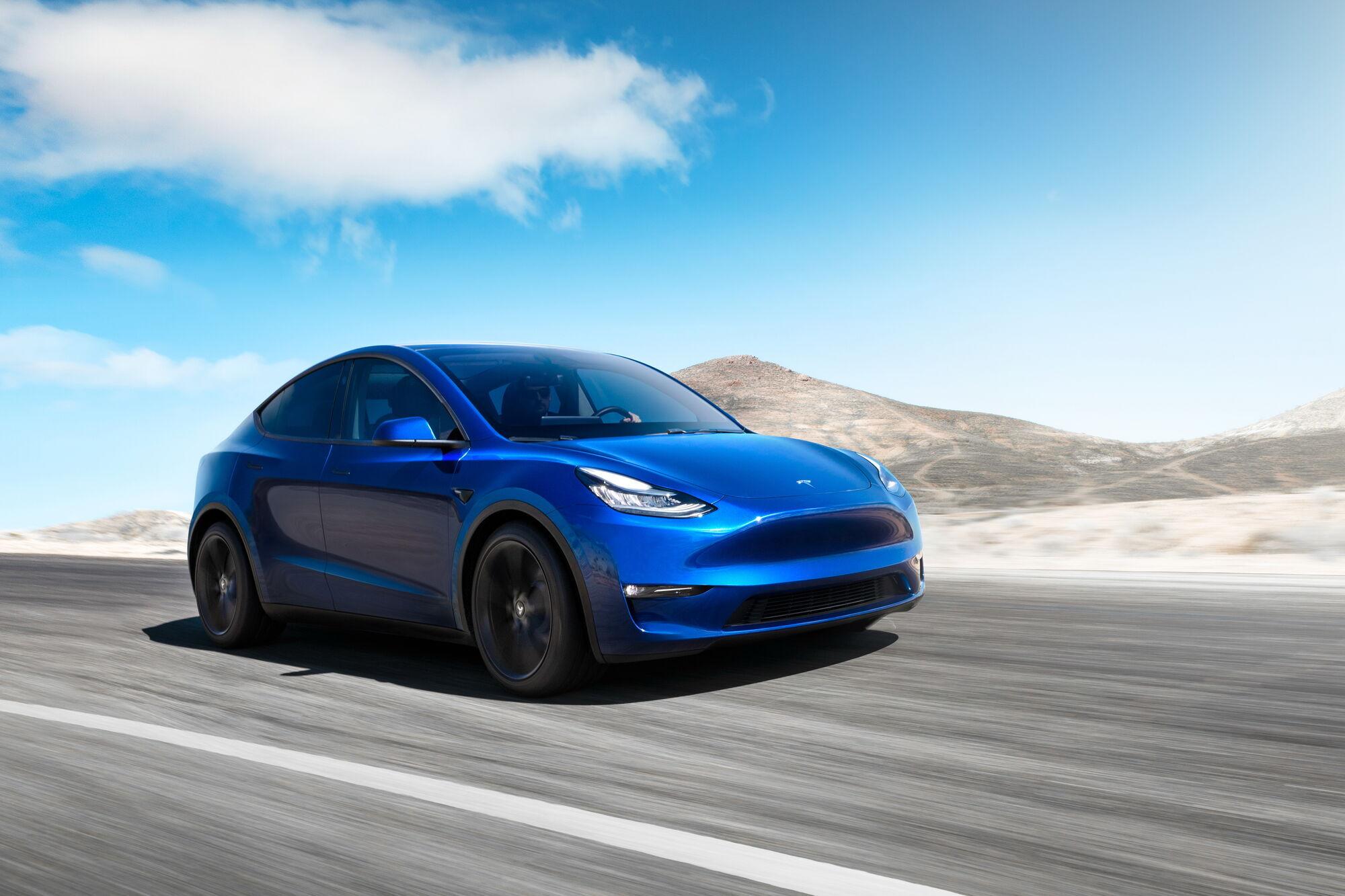 Tesla Model Y презентували весною 2019 року