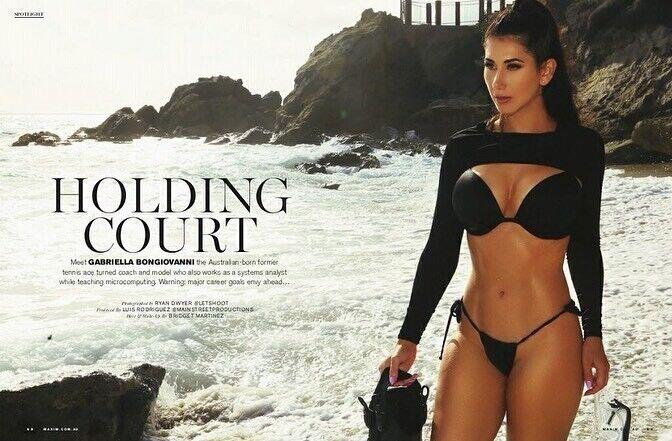 Ґабрієлла Бонджованні в журналі Maxim