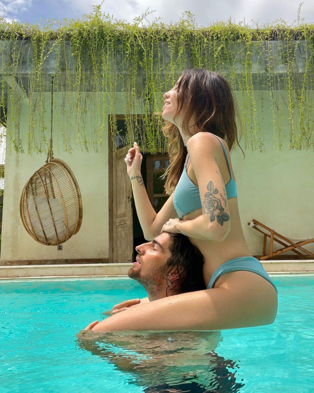 Дантес в отпуске с Дорофеевой на Бали