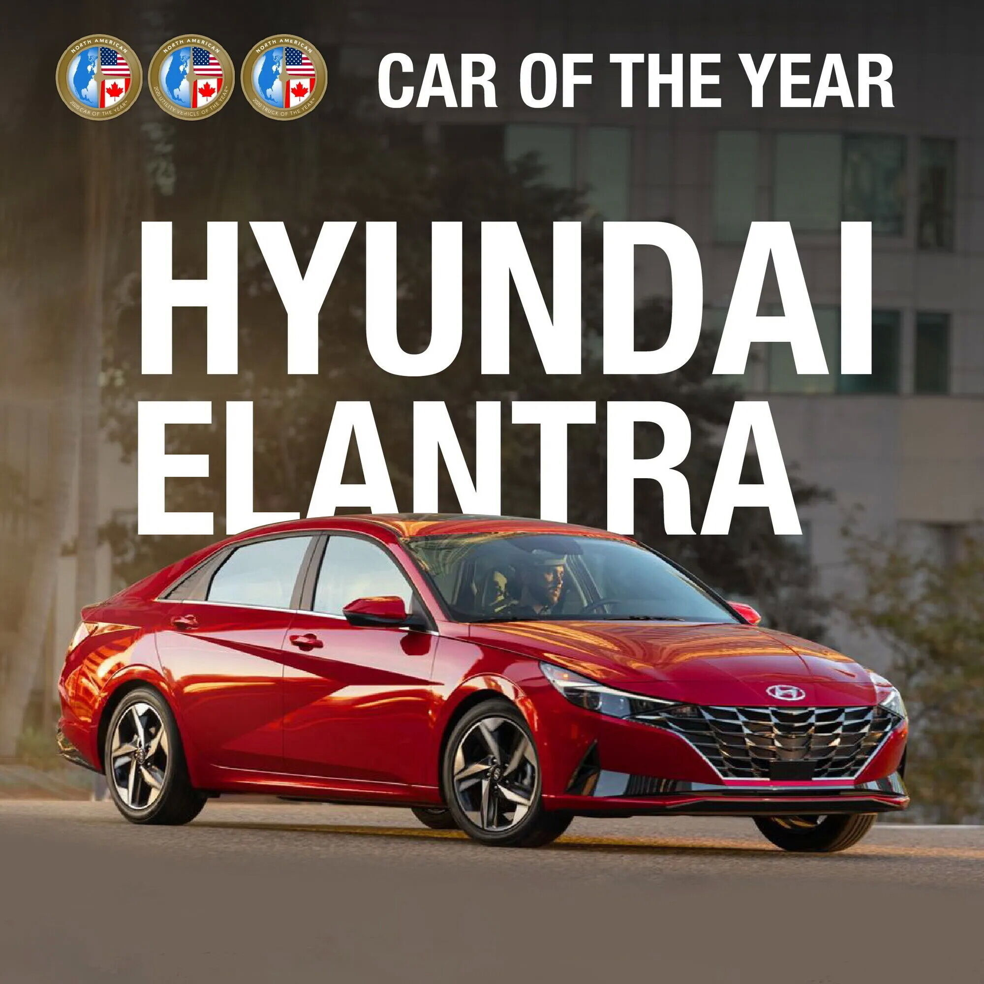 """Hyundai Elantra названа """"Автомобилем года"""" в США"""