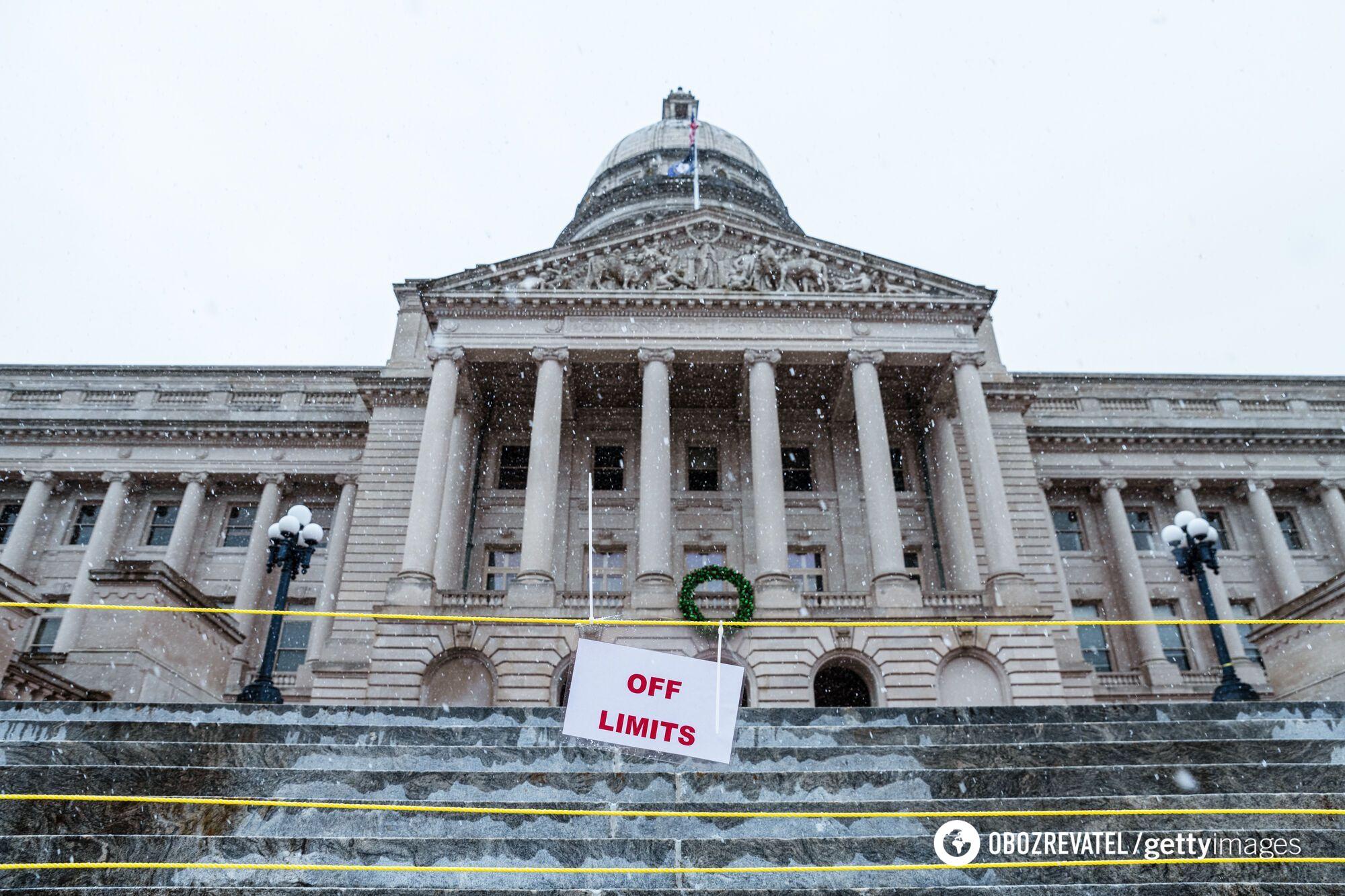 Загородження в центральній частині Вашингтона після 20 січня будуть зняті