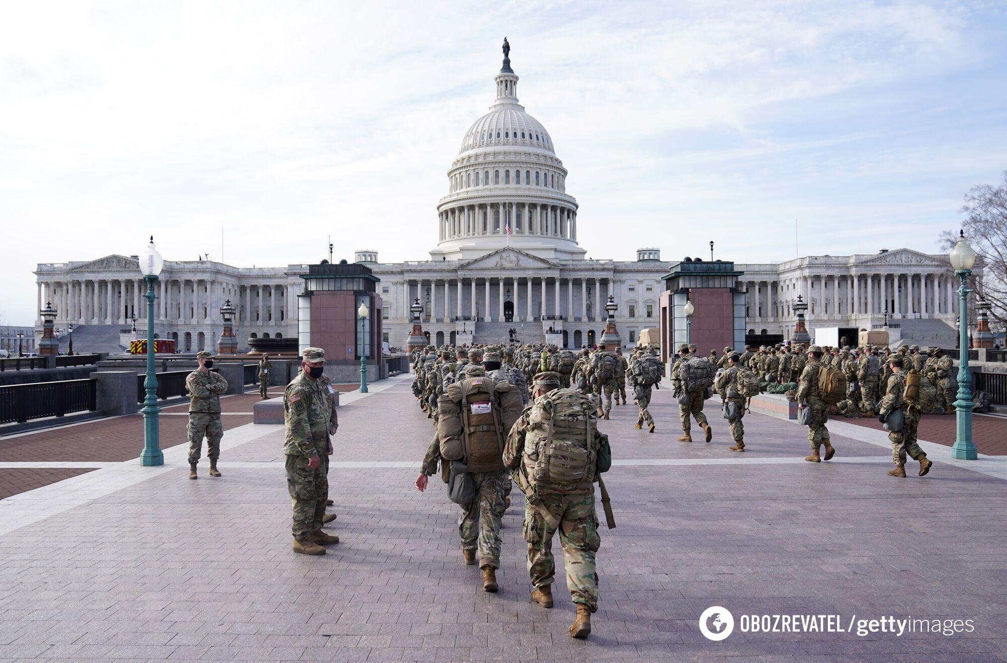До Вашингтона прибули понад 9 тисяч бійців Нацгвардії