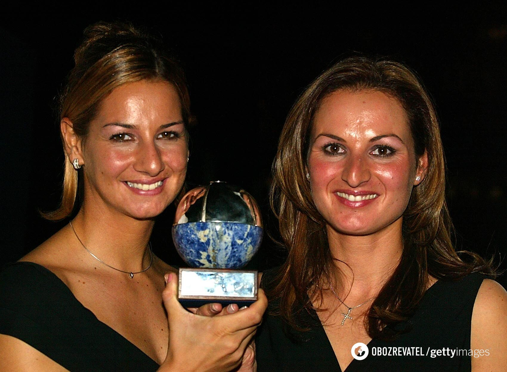 Софія Бекатору (зліва) 2002 рік
