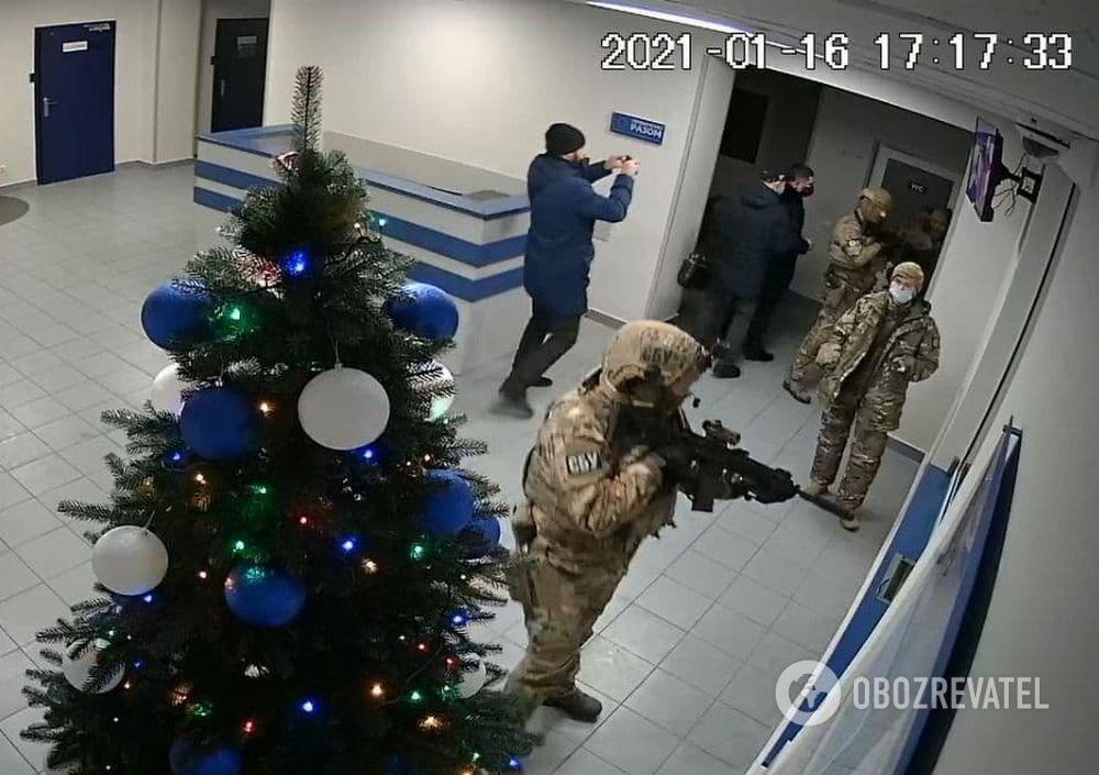 """""""Альфачі"""" у відділі поліції в Боярці"""