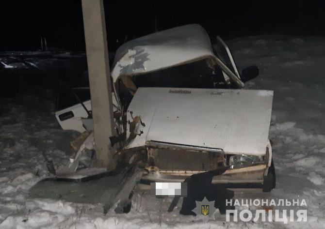 В аварии погибла женщина