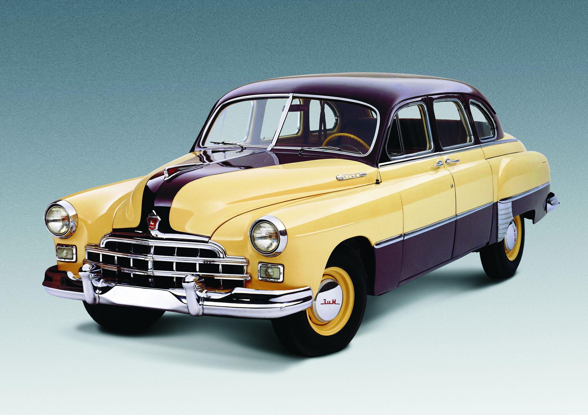 """ГАЗ-12 """"ЗІМ"""" – перший та останній радянський представницький автомобіль, який можна було придбати в роздріб."""