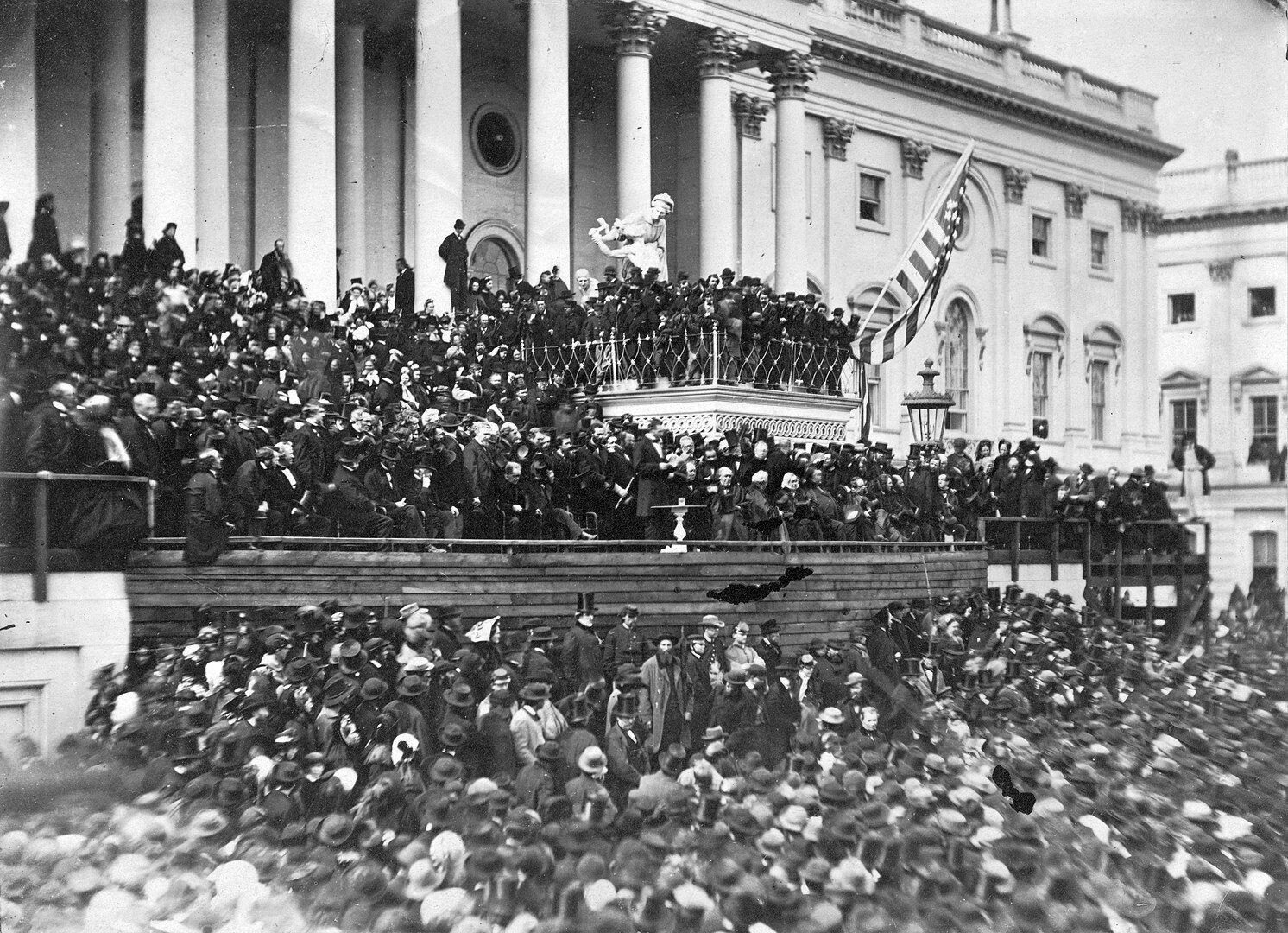 Вторая инаугурация Авраама Линькольна, 4 мая 1865 года