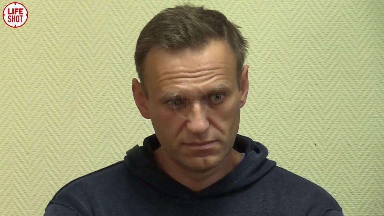 Навальний на засіданні суду