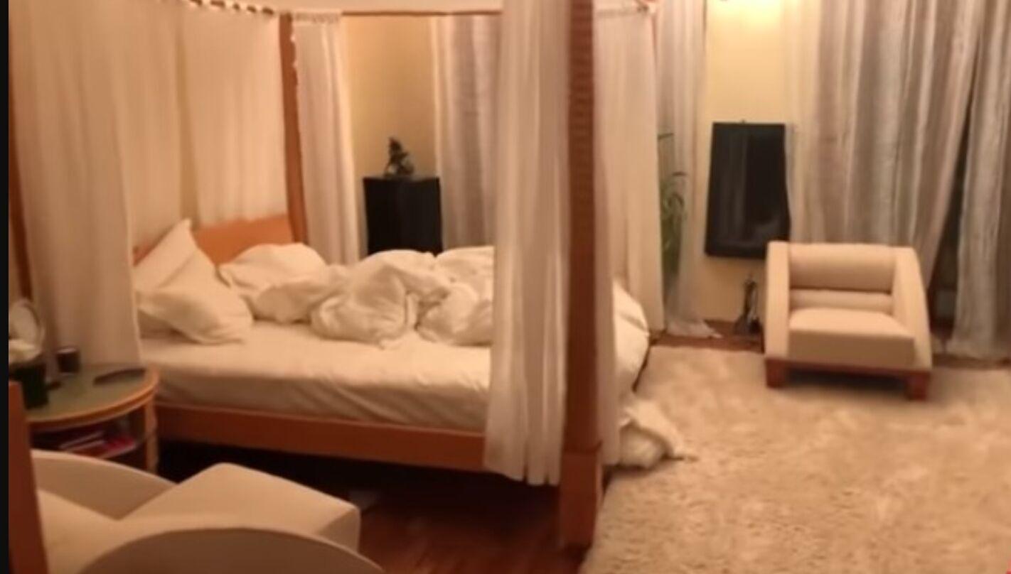 Вид на спальню Ольги Поляковой