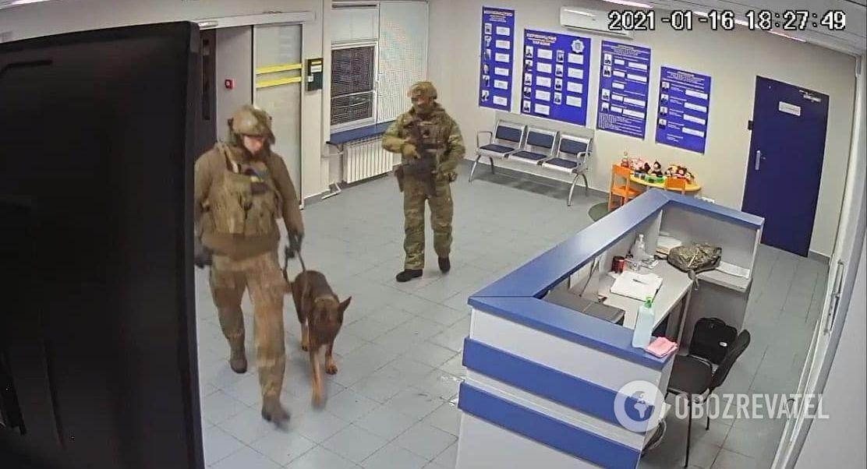 Для изъятия уголовного производства задействовали даже собаку