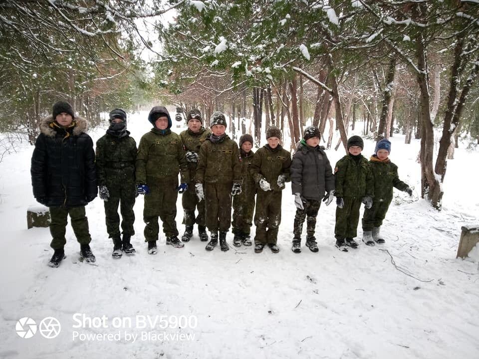 Військова підготовка дітей у Криму