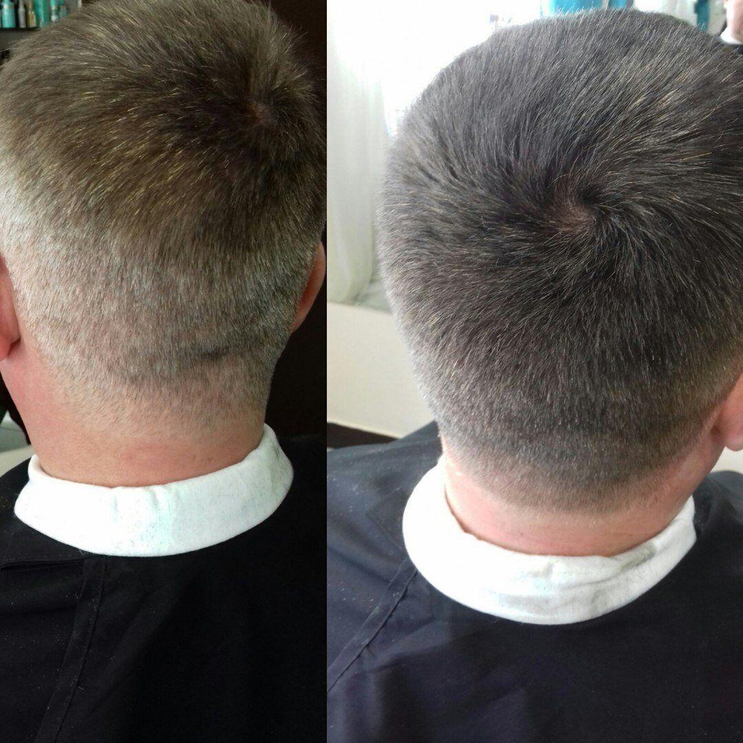 Камуфлирование седых волос делается только мужчинам
