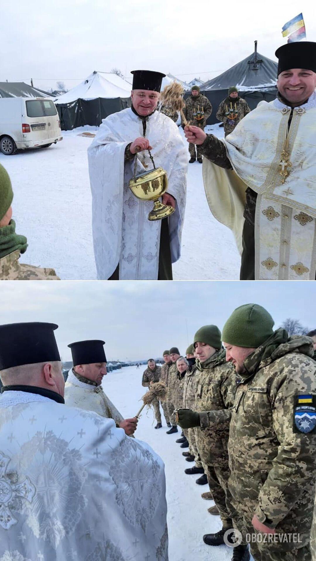 Свято Водохреща у бійців 10 гірсько-штурмової бригади