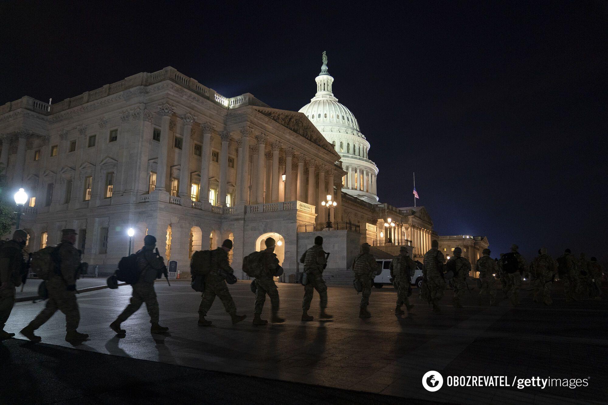 У Вашингтон стягнули тисячі солдатів